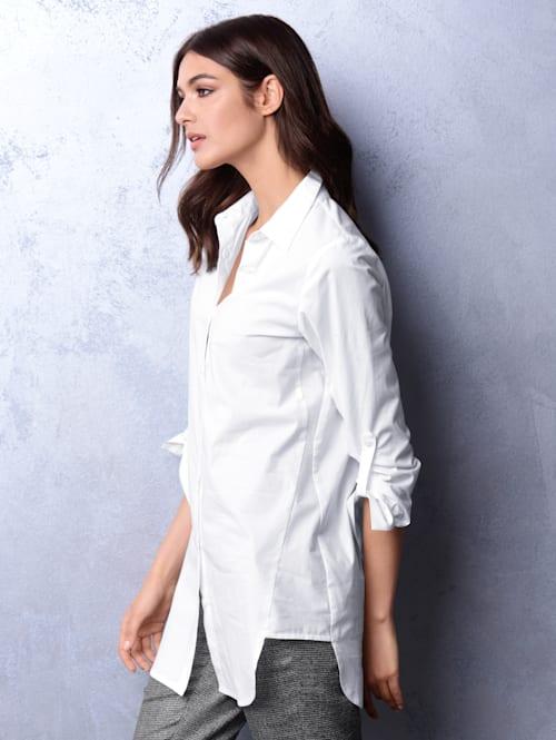 Bluse in bequemer Stretch-Qualität