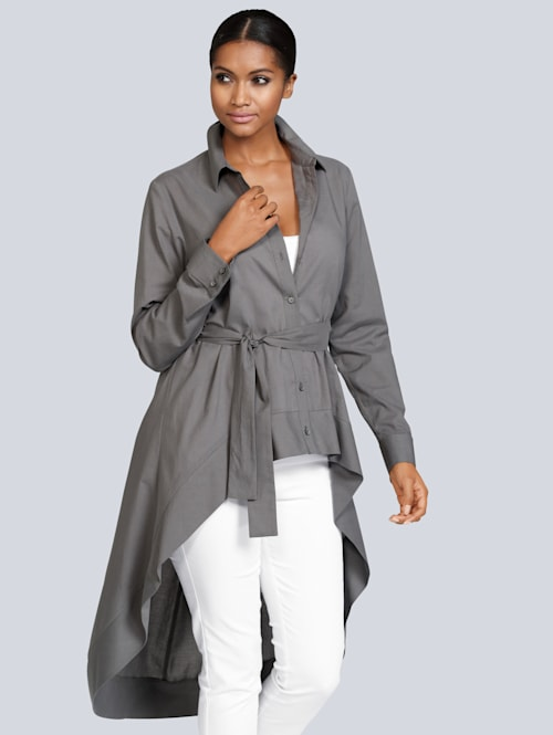 Blouse in trendy model
