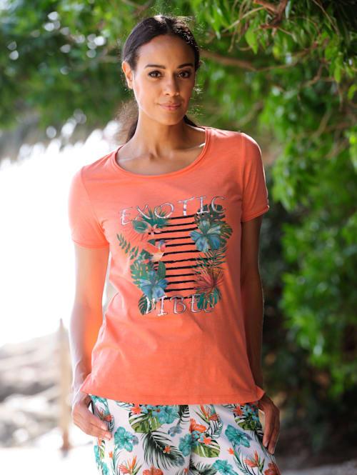 Strandshirt met motief