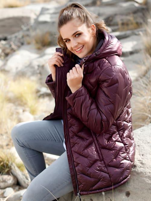 Funkční bunda s kapucí