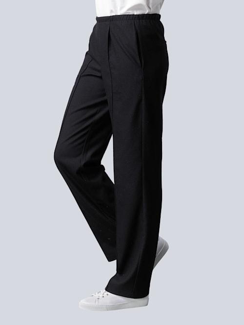 Nohavice v komfortnom strihu bez zapínania