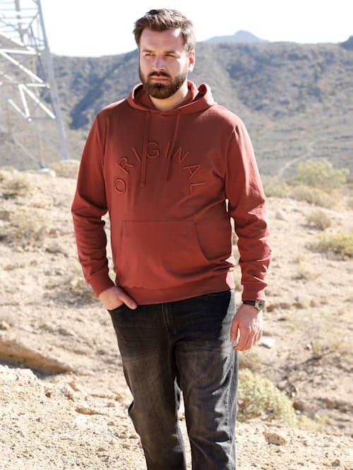 Kapuzensweatshirt mit Kängurutasche