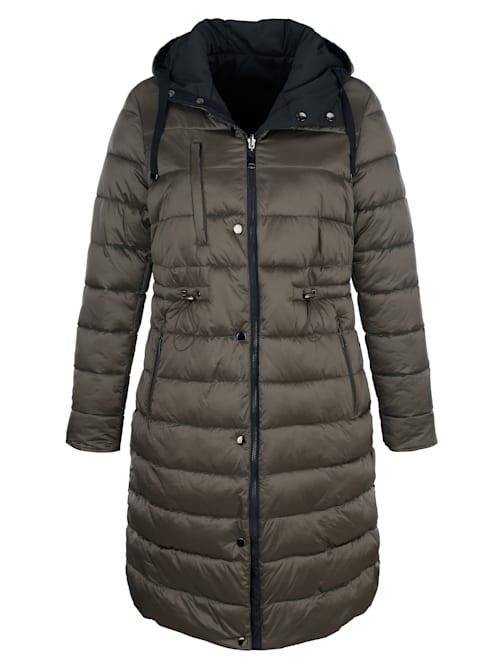 Manteau matelassé à fonction réversible