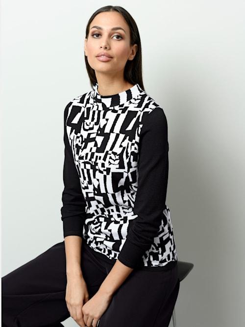 Pullover mit grafischem Jacquardstrick