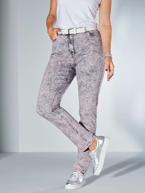 Jeans in Moonwashed Optik