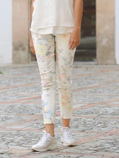 Hose im exklusiven Druck von Alba Moda