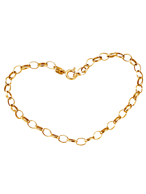 Ankerarmband in Gelbgold