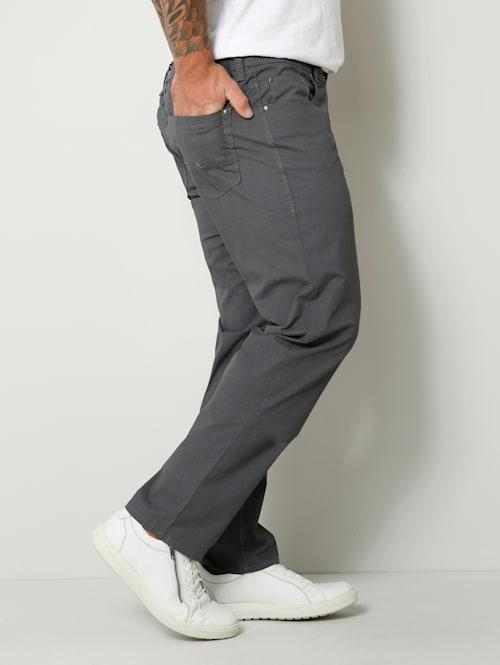 Kohokuvioiset suorat housut