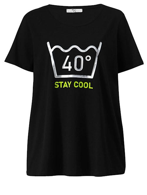 Shirt mit glänzendem Motiv