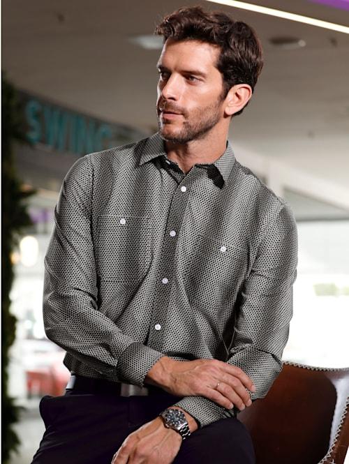Košeľa s celoplošnou potlačou