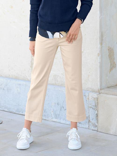Jeans Culotte in komfortabler elastischer Qualität