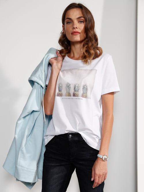 T-Shirt mit Ananasdruck