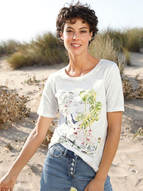 Shirt mit sommerlichem Druck