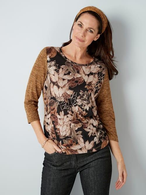 T-shirt et écharpe avec écharpe tendance