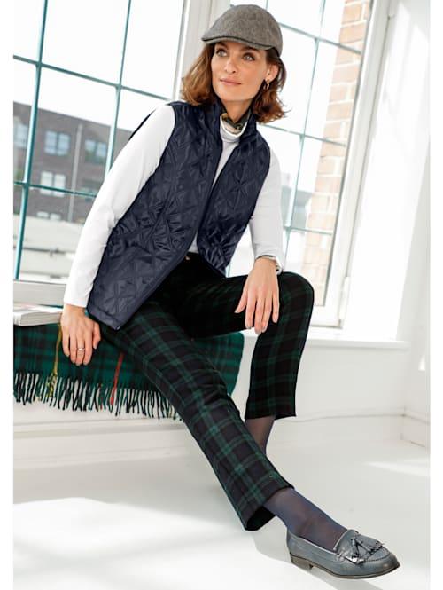 Trousers in Black Watch tartan