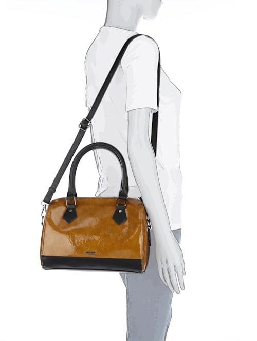 Handtasche aus hochwertigem Materialmix