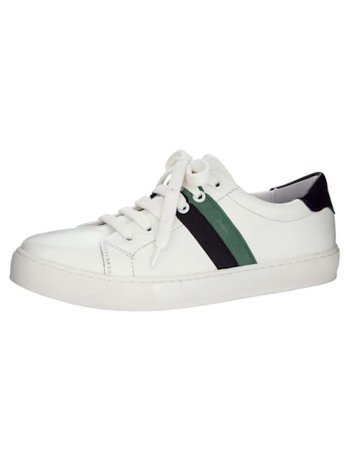 Sneaker mit modischer Streifen-Verzierung