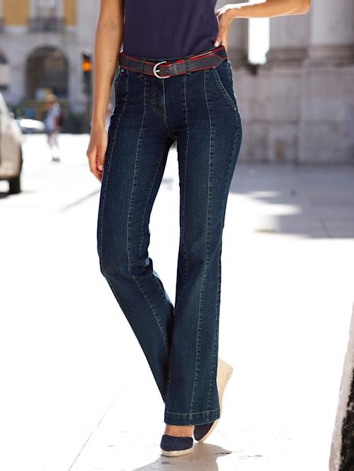 Jeans met deelnaden