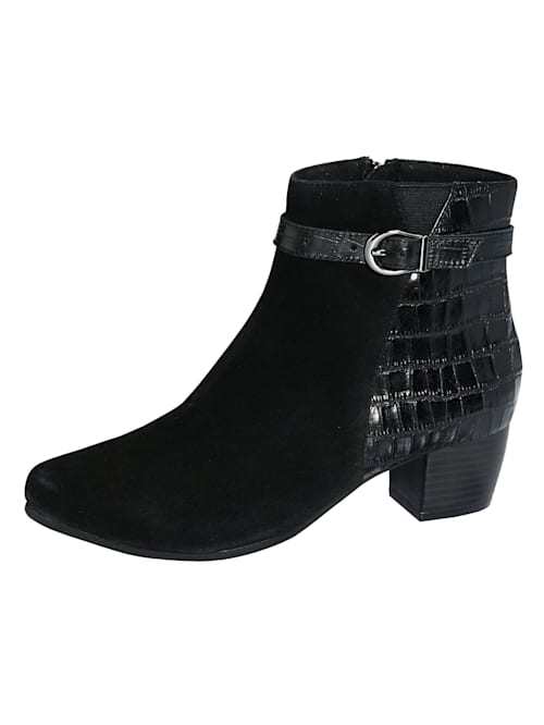 Ankle boots made from the finest Nappa leather