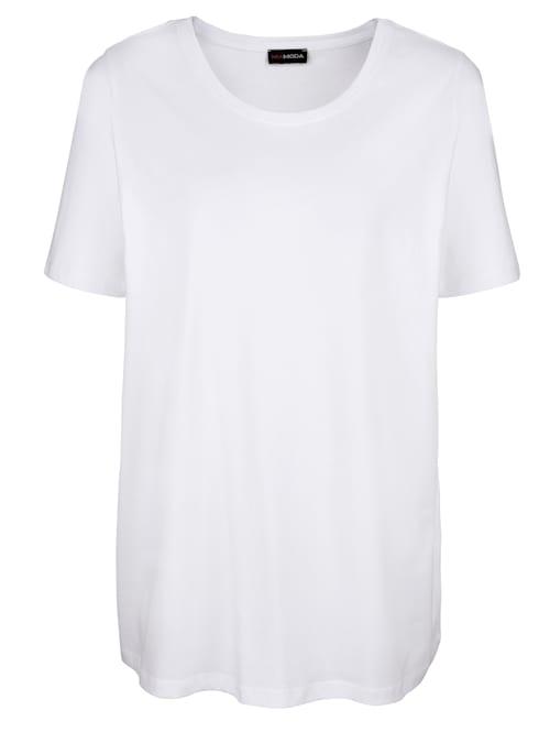 Shirt mit Rundhalsausschnitt