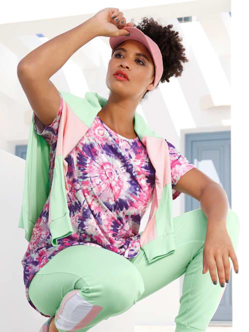 Batikkikuvioitu paita