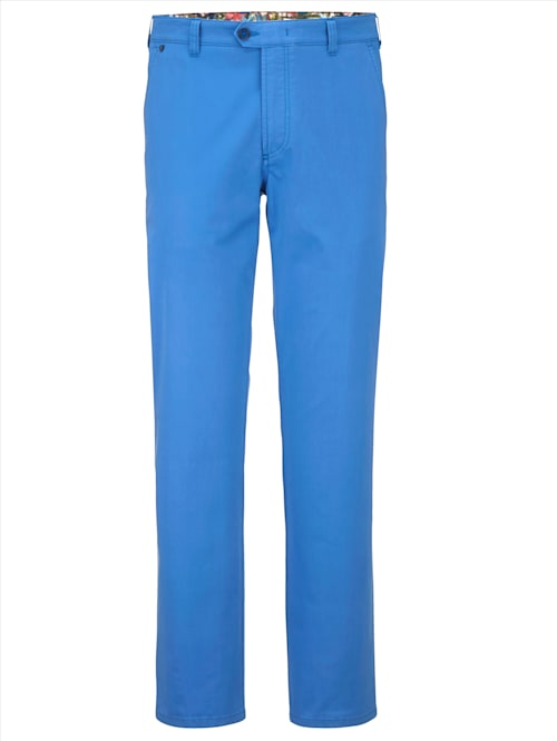 Pantalon chino en coton PIMA mélangé