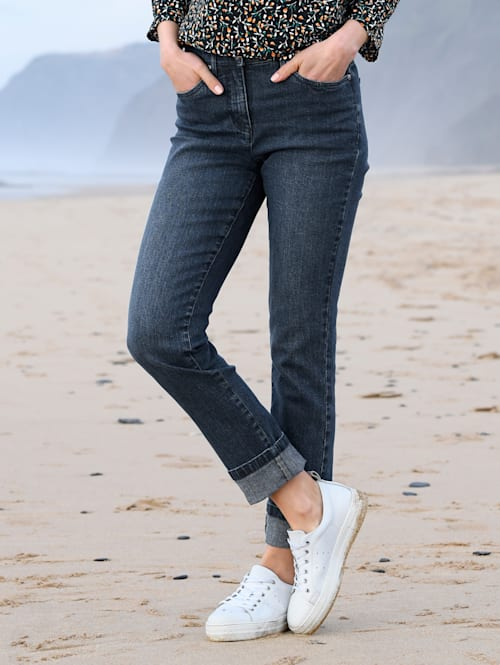 Jeans i modell Paola slim