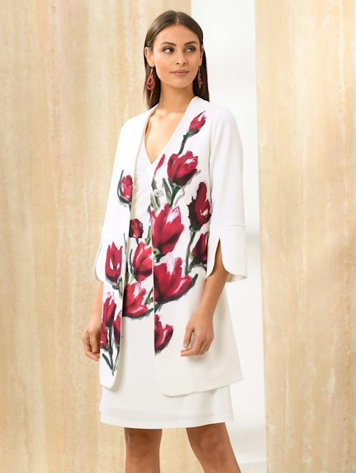 Mantel mit Alba Moda exklusivem Print