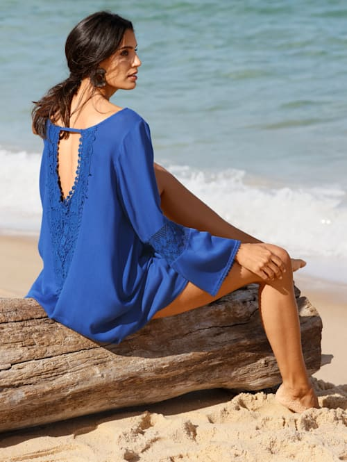 Tunic with lace detail