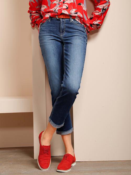 Jeans mit Fransenkante