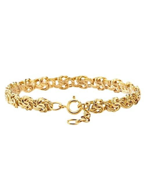 Königsarmband in Gelbgold