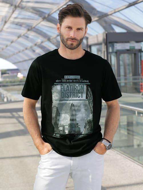 T-Shirt mit modischem Print