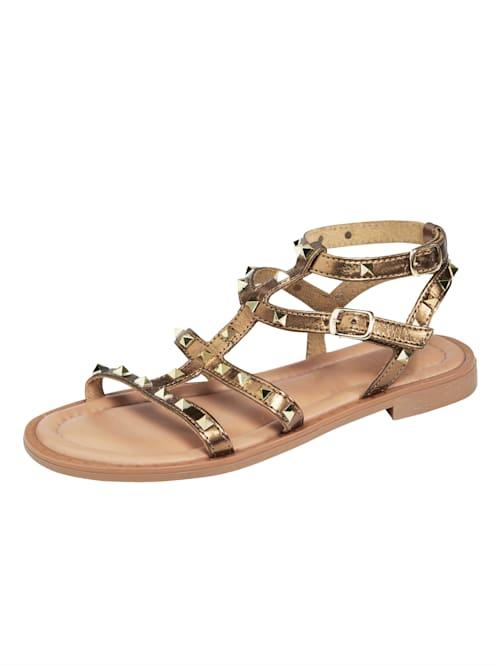 Sandaaltje met aantrekkelijke riempjes