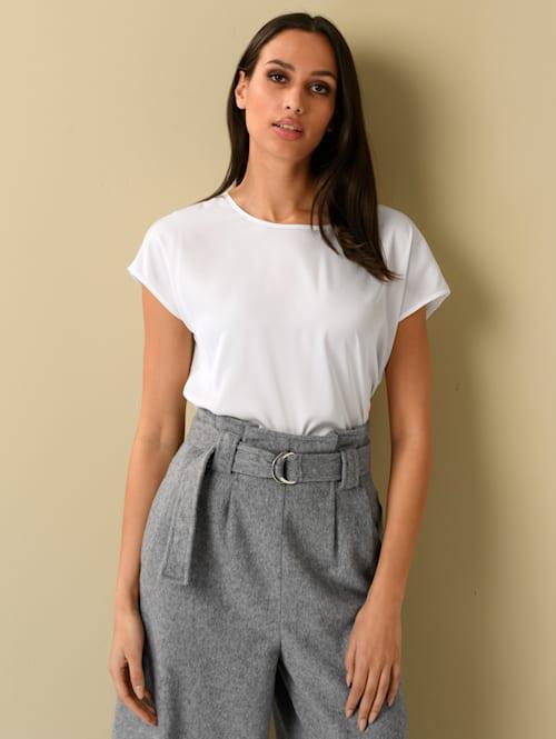 Shirt mit softem Jersey-Rücken