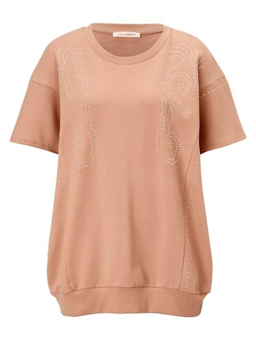 Shirt mit Besatz