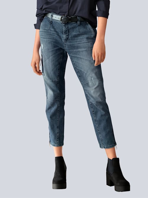 Jeans in Cargoform