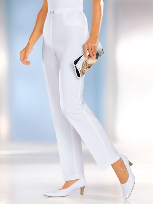 Pantalon couture allongeante
