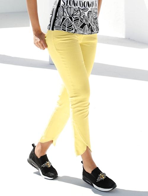 Jeans met franjes