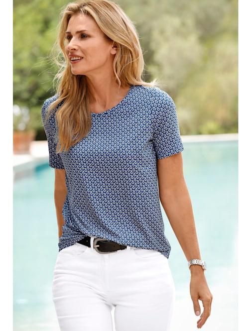 T-shirt à motif minimaliste