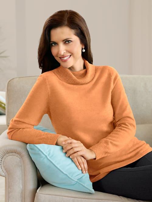 Kaschmir-Pullover mit Rollkragen