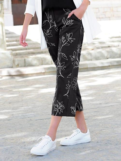 Hose mit Alba Moda exklusivem Druck