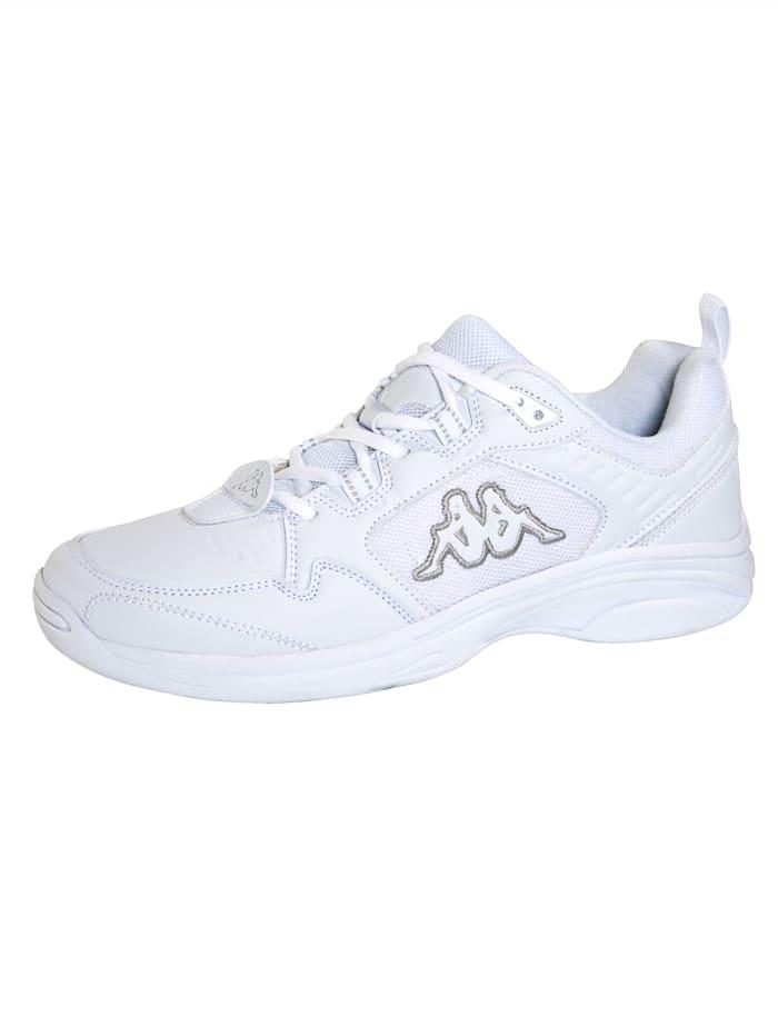 Kappa Sneaker met zool geschikt voor binnensport, Wit