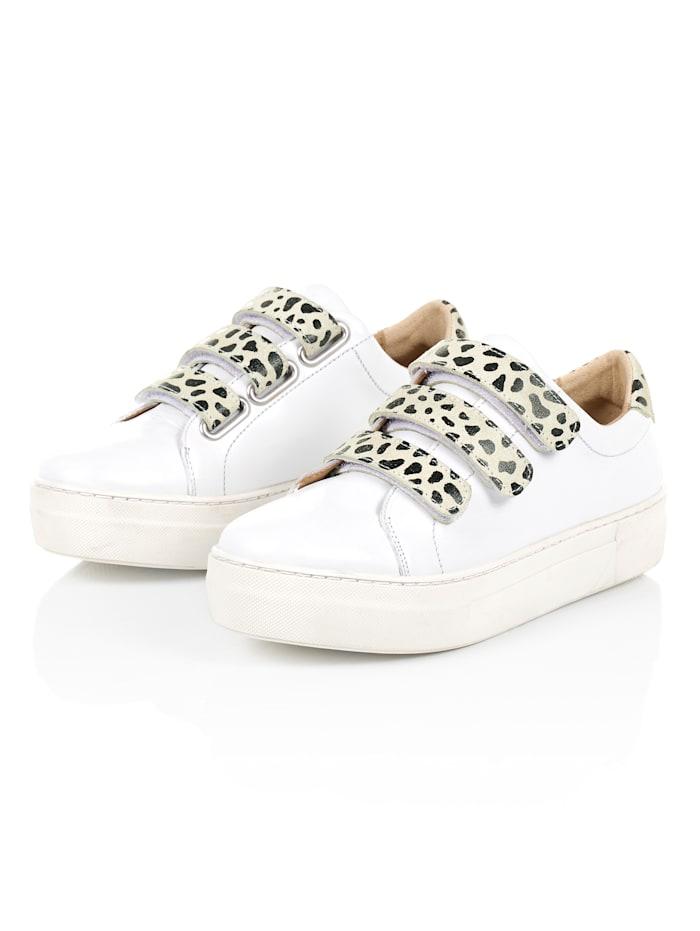 SIENNA Sneaker mit Klettverschluss, Weiß