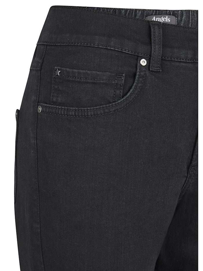 Jeans 'Tama' mit teilelastischem Bund