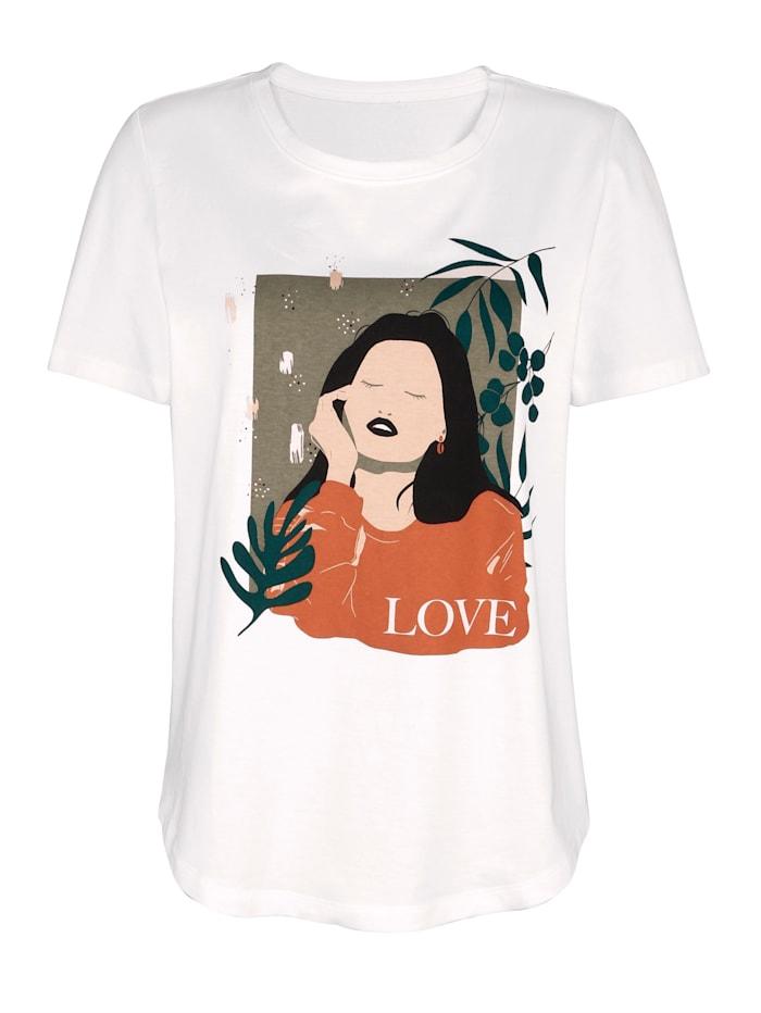Shirt met dessin
