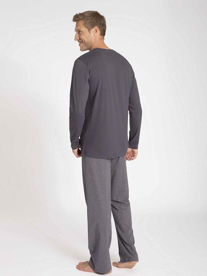 Herren-Pyjama Ökotex zertifiziert