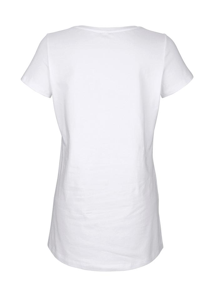 Shirt mit Strass-Steinen