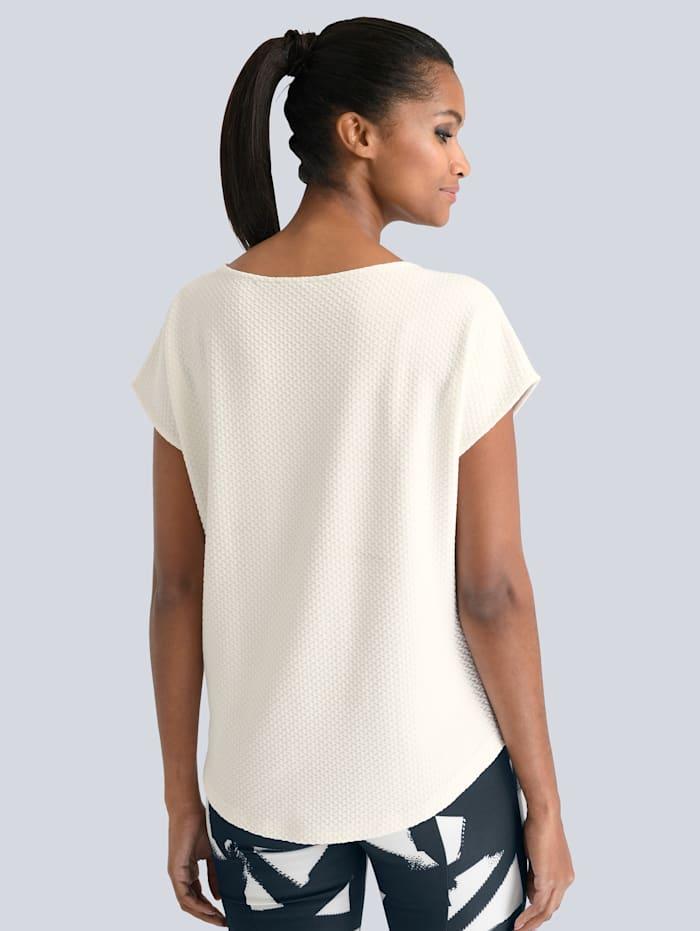 Shirt in schöner strukturierter Ware