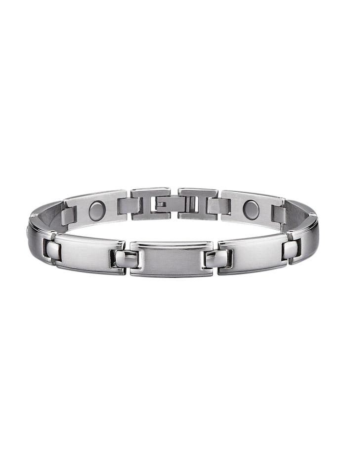 Magnetic Balance Armband, Zilverkleur