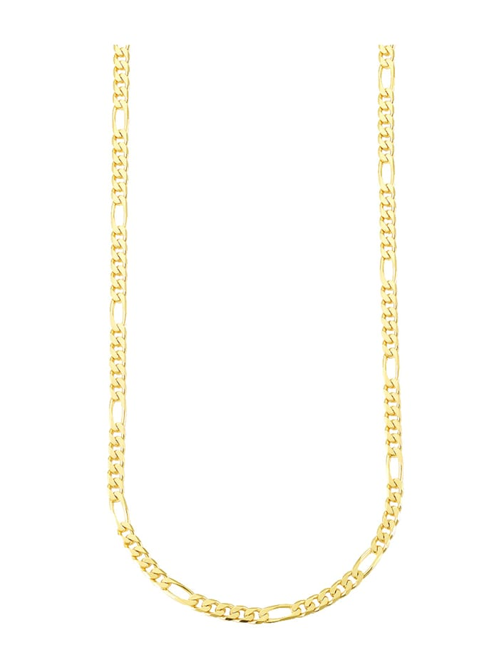 Giulia Figarokette in Gelbgold 585, Gelbgoldfarben